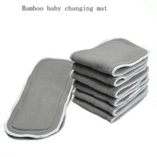 Foldable Padded Bamboo Baby Changing Mat